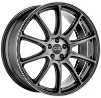 Литые диски OZ Hyper XT HLT R22 5х112 ET54 DIA79,0 Star Graphite Diamond Lip