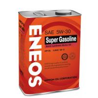 Масло моторное 5w30 SN Eneos Super Gasoline 100% Synt 4л (синтетика)